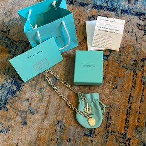 Authentic Tiffany Necklace in Sterling
